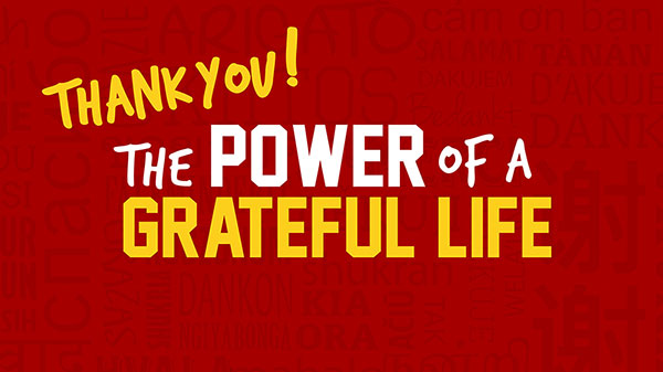 Unleashing a Life of Gratitude Image